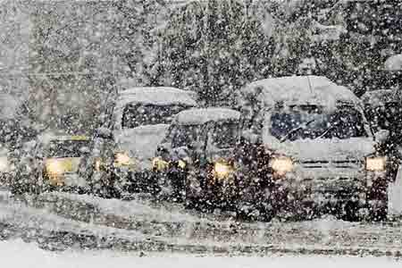 Ministry of Emergencies: Armenia has closed and impassable roads