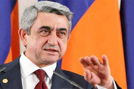Serzh Sargsyan: Real democracy was a response to populism, which  posed a serious challenge to many countries of the world