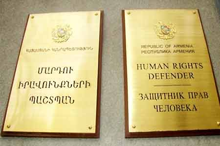 Ombudsman of Armenia is concerned about the presence of snipers in the windows of the National Assembly