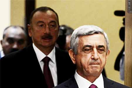 Sargsyan`s office responded sharply to Aliyev, urging him to find out  which of his lies is