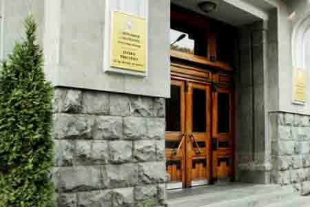 Prosecutor General`s Office appealed to Interpol to neutralize the  illegal search for Armenian and Artsakh officials