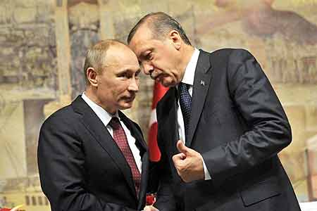 Putin discussed with Erdogan the settlement in Nagorno-Karabakh