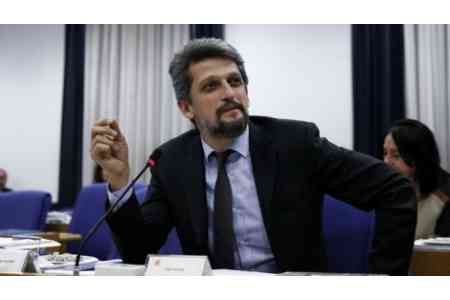 Garo Paylan nominated for the Nobel Peace Prize 2020