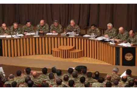A working group will be formed in Armenia to develop a concept for  reforming the country`s armed forces
