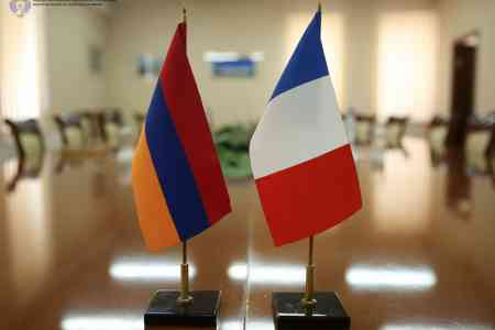 Deputy Prime Minister and French Ambassador to Armenia discussed  opportunities for deepening cooperation