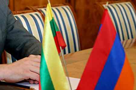 Human Rights Defender of Armenia and Lithuanian Ambassador discussed  issue of human rights violations by Azerbaijani armed forces during  the 44-day war