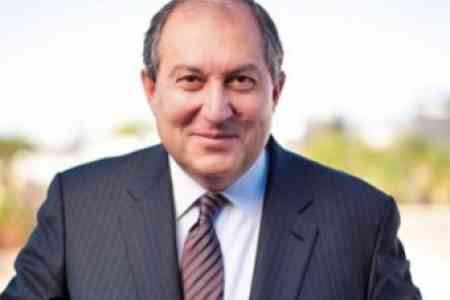 Armenian President met with Chairman of Rockefeller Brothers Fund in  Munich