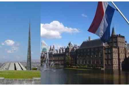 Netherlands interested in expanding bilateral cooperation agenda with  Armenia