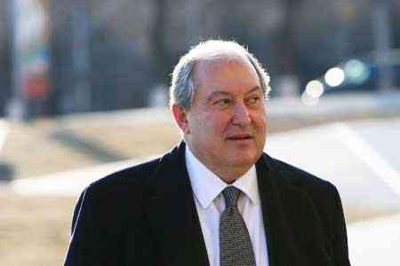 Armen Sarkissian: The country`s borders are protected both by the  high combat readiness of our brave army, and by the will and  resilience of the residents of border villages