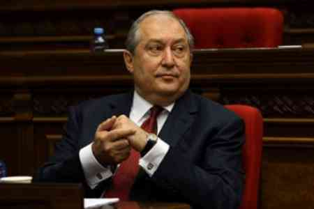 Armenia`s President: Hindering by the Azerbaijani side of search operations is unacceptable