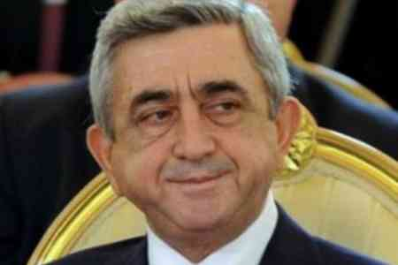 Serzh Sargsyan accused of organizing embezzlement on an especially  large scale