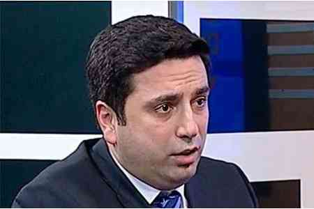 Deputy Speaker: Mikael Minasyan cannot be on the wanted list all his  life