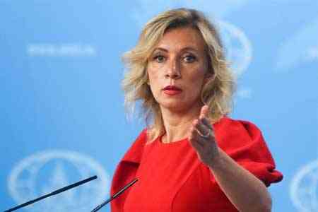 Russian Foreign Ministry: There are mechanisms to resolve the  situation in Nagorno-Karabakh