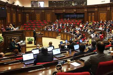 Extra session of the National Assembly of Armenia will be convened on  December 19