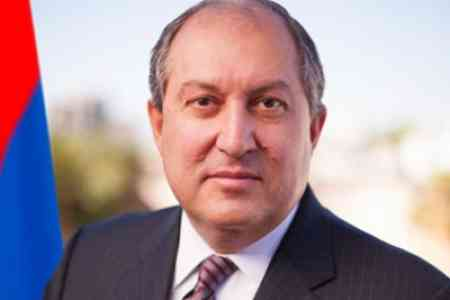 Armen Sarkissian receives congratulations on his birthday from Xi   Jinping, Lukashenko, Tokayev, Berdymukhamedov and other leaders
