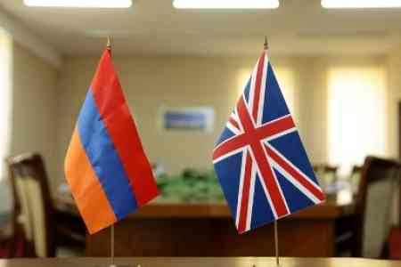 Yerevan and London discussed  situation in Karabakh conflict zone