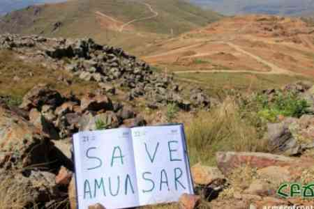 Wheelhouses of activists opposing the development of Amulsar  dismantled