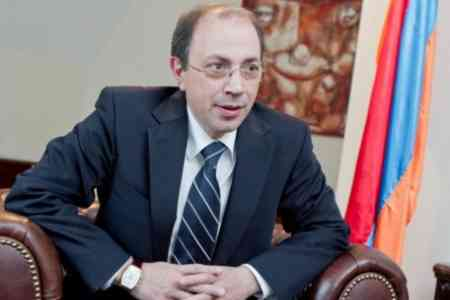 Ara Aivazian: The de-occupation of the territories of Artsakh is a  priority for the Armenian side
