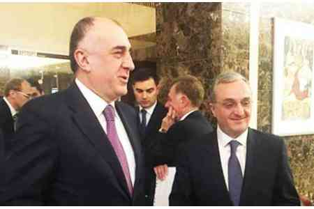 Mnatsakanyan and Mammadyarov agree to continue negotiations on  Karabakh early next year