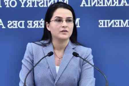 RA MFA: Armenia maintains partnership relations with Russia, which  are based on the principles of equality, friendship, age-old ties