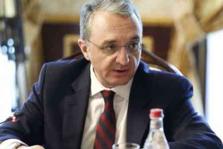 Mnatsakanyan presents Yerevan`s position on key issues of Karabakh  conflict settlement at OSCE