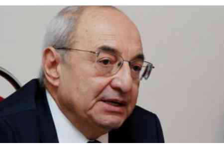 Head of Public Council of Armenia criticized recent actions and  decisions of Prime Minister Pashinyan regarding judicial system