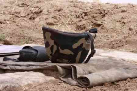 A conscript soldier died in one of the combat positions of the  Armenian Armed Forces
