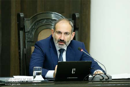 An extraordinary meeting of the Security Council of Armenia was held  under Pashinyan`s chairmanship