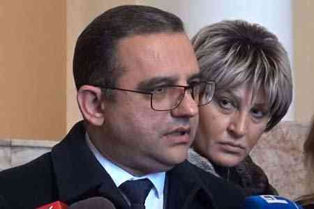 Armenian Minister of Economy resigned