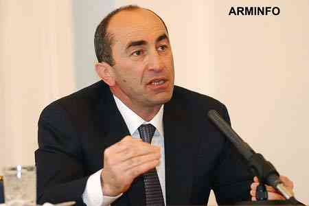 Robert Kocharian: the future of Armenia is in an organized state