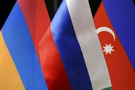 Russian President had telephone conversations with the heads of  Armenia and Azerbaijan