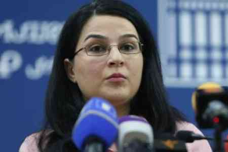 Anna Naghdalyan: The Azerbaijani side is trying to create grounds for  justifying its non-compliance by putting forward a fake agenda of  minefield maps