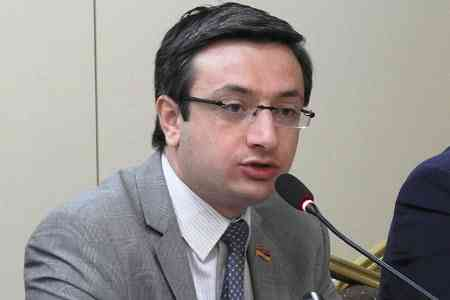Gorgisyan: The April Commission revealed enough facts to initiate a  criminal case against Artak Davtyan