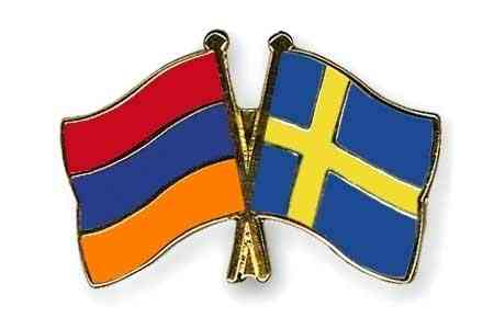 Mher Grigoryan and Swedish Ambassador to Armenia discussed  cooperation prospects