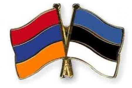 Foreign Ministers of Armenia and Estonia discussed  situation in  Karabakh