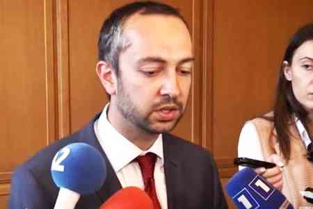 Eduard Aghajanyan commented on detention of Deputy Minister on  suspicion of corruption