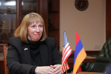 The Armenian President and the US Ambassador discussed topical issues  of the regional agenda