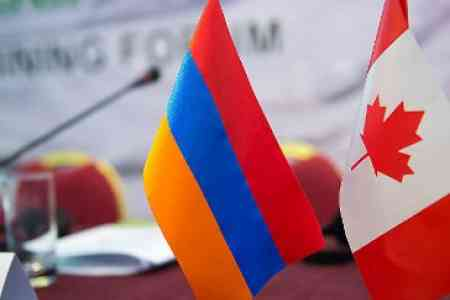 Armenian President expressed his gratitude to Canada for suspending  Turkey`s export permits for acquisition of military gear