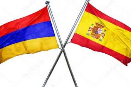 Armenia and Spain discussed prospects of starting a dialogue on visa  liberalization between Armenia and EU