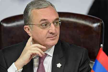 Zohrab Mnatsakanyan: There are no changes in Armenia`s position on the Artsakh issue