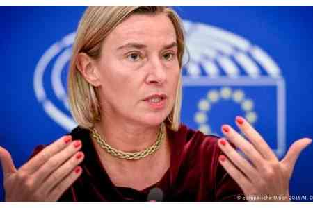 Mogherini: has been and will continue be the biggest supporter of the  Armenian government`s ambitious reform plan