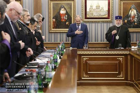 Nikol Pashinyan: Unfortunately, in our country, a general trend today  leads to the rejection of spirituality