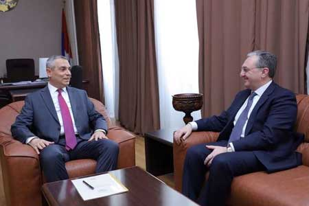 Mnatsakanyan and Mayilyan discussed the expectations and priorities  of Armenia and Artsakh under the Bratislava conference under the  auspices of the OSCE Minsk Group Co-Chairs