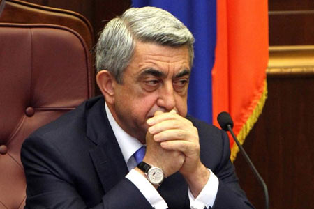 Sargsyan: The revolutionary authorities ignored the diplomatic  achievements of the April war