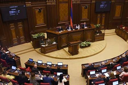 Opposition factions of the Armenian parliament initiate an  extraordinary sitting of the National Assembly on the situation in  the country