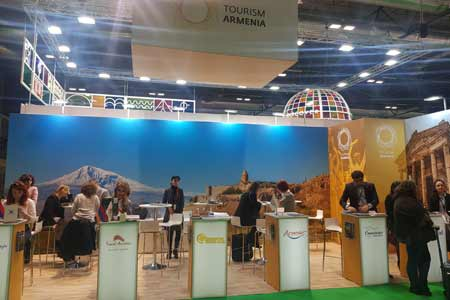 Armenia`s tourism potential presented at international exhibition in  Madrid