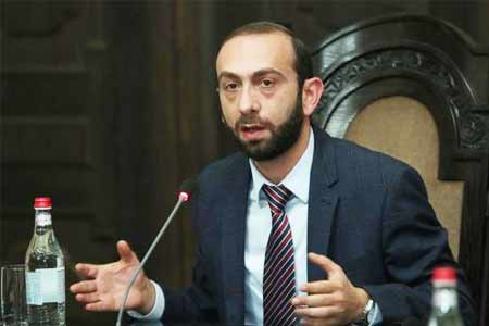 Ararat Mirzoyan: The independence and physical security of Artsakh  and Armenia are not a subject of bargaining