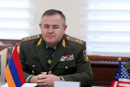 Head of the General Staff of the Armenian Armed Forces meets with the  parents of prisoners of war and missing servicemen