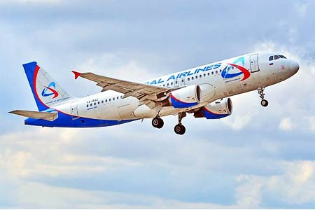 Ural Airlines launches flights from Moscow to Gyumri