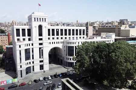 Yerevan accuses Baku of unwillingness to observe humanitarian  ceasefire and attempt to mislead the international community